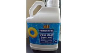 COAGULANT СRYSTAL POOL( для очищення води від каламутності та зважених часток) рідкий  5л