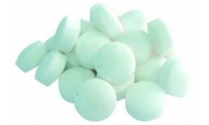 Таблетированная соль(25кг-фракция 10гр)
