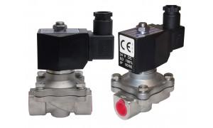 """Соленоидный электромагнитный клапан(нержавеющий) 1/2"""" / 220v / 2w-160-15"""
